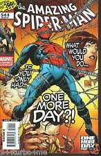 Marvel Comics AMAZING SPIDER-MAN #544 NM One More Day Part 1 of 4 QUESADA Cover