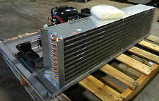 """NEW"" H-DUTY COMMERCIAL 1PH ""EMBRACO"" 4FANS REFRIGERATION UNIT W/EVAPORATOR PAN"