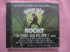 1 Stück CD-neu = Your Gig rockt = Die besten Bands Deutschlands,Vol.1 = TOP CD.