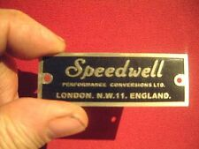 Speedwell Performance Tuning Conversion Plate VW Karman Beetle Porsche Mini