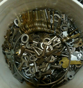 Antique Steamer Trunk Key Corbin Cabinet Lock Co T12  Corbin Trunk Key  T 12