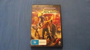 Justice League Throne Of Atlantis - DVD - R4 - Free Postage