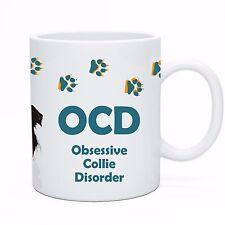 OCD - Obsessive Collie Disorder -  Coffee & Tea Mug Funny Idea Cup Dog Lover
