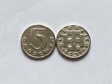 Austria 5 Groschen 1937 Österreich, Fantasy Coin Medal