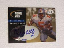 2000 SAGE Autographs Gold #A50 Michael Wiley/200