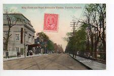 CANADA carte postale ancienne TORONTO  6 king street