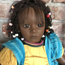Annette Himstedt Doll Ayoka 27� Reflections Of Youth African American Beautiful