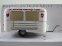 """Busch 51759 Nagetusch Verkaufswagen (1972) """"MITROPA"""" in weiß 1:87/H0 NEU/OVP"""