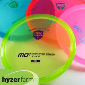 Discmania ORIGINALS C-LINE MD3 *pick color/weight* Hyzer Farm disc golf midrange