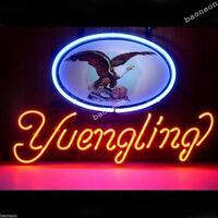 New Yuengling Larger US Eagle REAL GLASS BEER BAR HANDCRAFTED NEON LIGHT SIGN