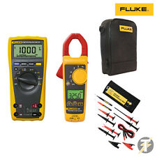 Fluke 179 True RMS Multimeter KITW, 325 Clamp Meter, TLK-225 Suregrip and Case