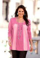 Sheego Shirt, pink-rose Gr  40/42 - 44/46 - 48/50 - 52/54