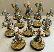 2002 khemri bloodbowl 5th edition citadel pro painted morts-vivants KHEMRIAN squelette