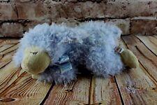 "Baby Ganz Blue Lamb Plush Stuffed Jesus Loves Me 10"" Sewn Eyes Religious Easter"