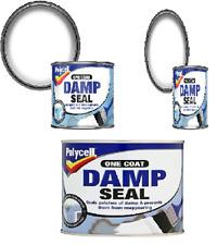 Polycell - One Coat Damp Seal Matt White Paint - 500ml / 1L / 2.5L