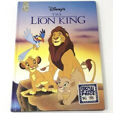 Disney's The Lion King Book By Mouse Works 1994 Hardcover