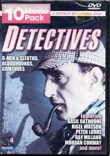 DETECTIVES: 10 MOVIE PACK -  3 DVD SET REGION 1 - BRAND NEW SEALED