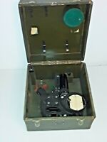 WWII 1941 US NAVY AIRCRAFT Octant MARK IV Military Aviation Navigate Instrument