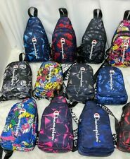 Champion Crossbody Bag Purse New  Multiple Colors/Patterns Unisex  Free Shipping