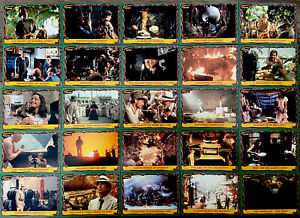 Indiana Jones™ TRADING CARDS Raiders of the Lost Ark TOPPS Collectors Set