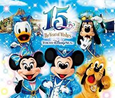 [CD] Tokyo Disney Sea 15th Anniversary Music Album Deluxe (3CDs) NEW from Japan