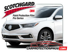 2017-2020 Acura MDX 3M Pro Series Clear Bra Deluxe Paint Protection Kit
