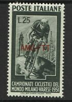 Italy-Trieste SC# 128, Mint Hinged, Hinge Remnant, see notes - S4252