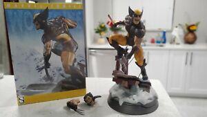Sideshow Marvel Brown Wolverine Exclusive Premium Format Figure Statue(886/1500