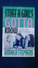 Stuff a Girl's Gotta Know by Andrea Stephens - Hints for Teens