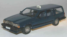 "wonderful  VOLVO 740 GL WAGON 1987 ""TAXI"" - darkblue - 1/43 - lim.ed.400 pcs."