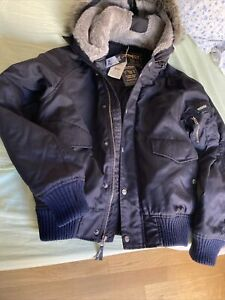 woolrich jacket  nero TG M in cordura