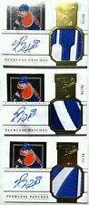 1× /40 PEERLESS RYAN NUGENT HOPKINS ROOKIE LOGO PATCHES AUTO 2011 11 12 DOMINION