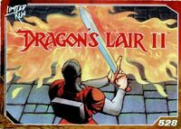 Dragon's Lair II Limited Run Games Silver Trading Card #528 New No Creases Tears