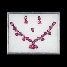 6.11 Cts - Unique Hi End Ultra Top Class Set -100 % Natural Pink Tourmaline !!!