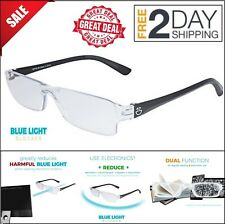 Computer Screen Protection Glasses Anti Blue Light Reduce Eye Fatigue Headaches