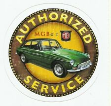 MGB GT AUTOMOBILE   Sticker Decal