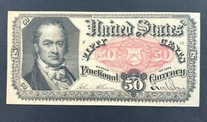 5th Issue 50 Cent Fractional Currency