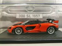 TRUESCALE McLAREN SENNA MIRA ORANGE 1/43 NEW SEALED CASE.