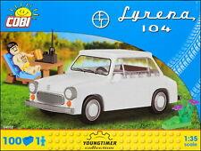 COBI Syrena 104 with figurine (24553) - 100 elem. - Polish passenger car