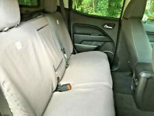 New listing 2017-2019 Colorado, Canyon Covercraft Carhartt Rear Seat Covers - Gravel