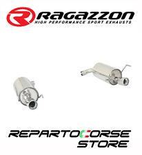 RAGAZZON SCARICO SDOPPIATO TERMINALI TONDI 2/90MM ALFA 159 2.2JTS 136kW 185CV