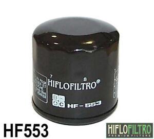 Hiflo HF553 Moto Recambio Filtro de Aceite Alta Calidad