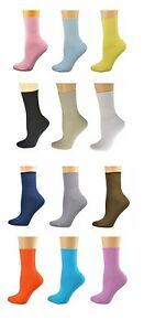 Sierra Socks Health Diabetic Arthritic Cotton Cushioned Sole Women's 3 Pair Pack