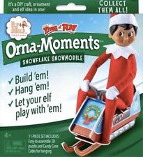 Elf On The Shelf Orna-Moments Snowflake Snowmobile Sled Elves at Play 2019