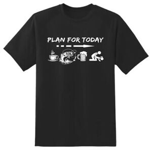 Plan for today Rude cheeky Funny Novelty T shirt Mens