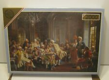 "Vintage FALCON 2000 Pcs. Jigsaw Puzzle ""AN ELEGANT SOIREE"" New In Shrink!!!!"