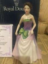 "ROYAL DOULTON FIGURINE OF THE YEAR 1997 ""Jessica Certificate And Boxed"