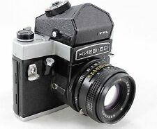 KIEV 60 TTL vintage medium format SLR 6x6 camera, lens MC Volna-3  2.8/80 & more