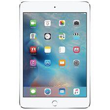 New Apple iPad Mini 4 32GB Wi-Fi + 4G Cellular Unlocked 7.9in Tablet - Silver