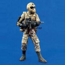 120MM 1/16 Modern Soldier Resin Kit Figure Model Warrior Garage Kit Unpainted